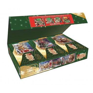 Christmas Collection 2 -  Jumbo 3 х 1000, Simonetta Pyrola and Donna Gelsinger