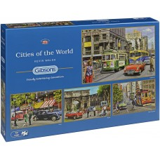 Gibsons 4 x 500 - Cities around the World, Kevin Walsh