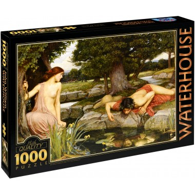 D-Toys 1000 - Echo and Narcissus, John William Waterhouse