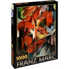 D-Toys  1000  – Foxes, Franz Mark