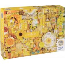 Cobble Hill 1000 - Yellow, Shelley Davis