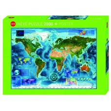 Heye 2000 - Satellite map of Earth