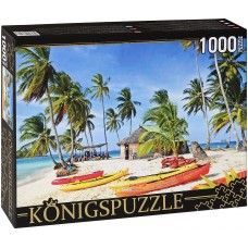 Königspuzzle 1000 - Boats on the Island