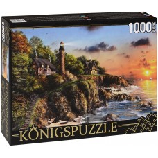 Königspuzzle 1000 - Beacon on the shore