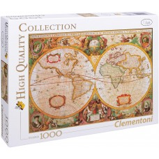 Clementoni  1000  - Ancient map of the world