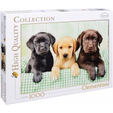 Clementoni  1000 -  Three Labradors