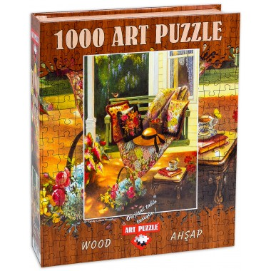 Art Puzzle 1000 - Summer Shade, Sandy Linam Claw, Wood