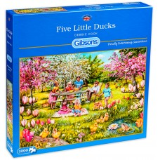 Gibsons 1000 - Five Little Ducks, Debbie Cook