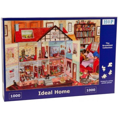 The House of Puzzles 1000 - Ideal home