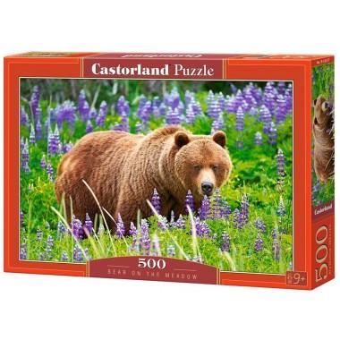 Castorland 500 - Bear on the Meadow