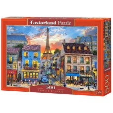 Castorland 500 - The Streets of Paris