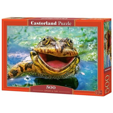 Castorland 500 - Green and fun