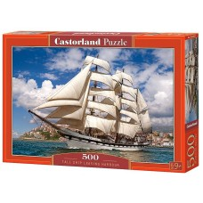 Castorland 500 - A ship departing from the port