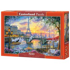 Castorland 500 - Time for tea in Paris