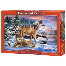 Castorland 500 - Wolf Tale