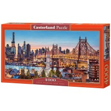 Castorland 4000 - Good evening, New York, Panorama