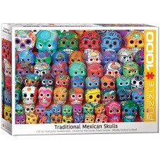 Eurographics 1000  - Traditional Mexican skulls