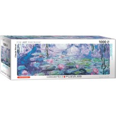 Eurographics  1000 - Water lilies (detail), Claude Monet