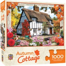 Master Pieces 1000  - Autumn cottage, Howard Robinson
