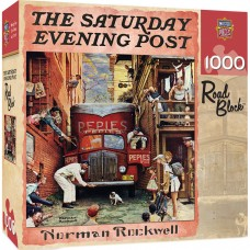 Master Pieces 1000 - Roadblock, Norman Rockwell