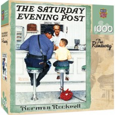 Master Pieces  1000 - The Fugitive, Norman Rockwell