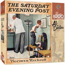 Master Pieces  1000 - At the doctor, Norman Rockwell