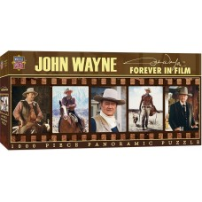 Master Pieces 1000  - John Wayne's Eternal Films
