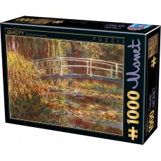 D-Toys  1000  -  The Japanese Bridge, Claude Monet