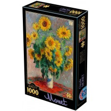 D-Toys  1000  - A bunch of sunflowers, Claude Monet