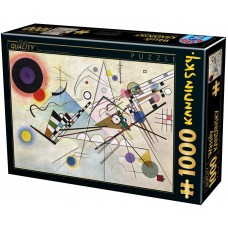 D-Toys 1000  - Composition 8, Vasily Kandinsky