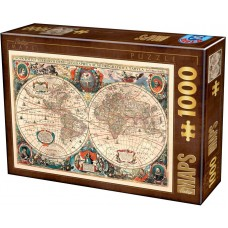 D-Toys  1000  - Vintage maps, Ancient map