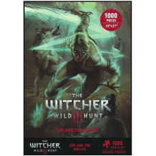 1000 - Witcher 3 Wild Hunt Ciri and the Wolves