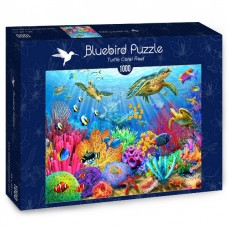 Bluebird 1000 - Coral reef with turtles