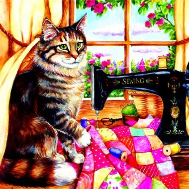 SunsOut 1000 - The seamstress, Debbie Cook