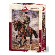 Art Puzzle  1000  - Mustafa Kemal with his horse Sakarya