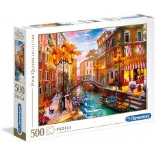 Clementoni  500  - Sunset over Venice