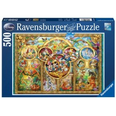 Ravensburger  500  - The Disney Family