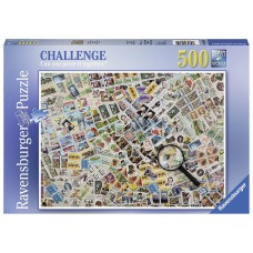 Ravensburger  500  - Stamps