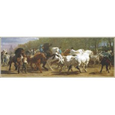Gold Puzzle 1000  - Exhibition of horses