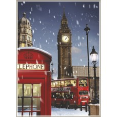 Gold Puzzle  1000  - London at Christmas