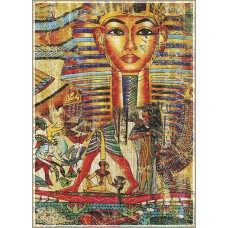Gold Puzzle  500  - Ancient Egyptian collage