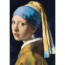 Trefl 1000  - Girl with a pearl earring, Johannes Vermer