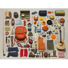 New York Puzzle  500 - Camping Equipment