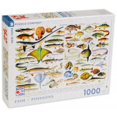 New York Puzzle  100  - Fish