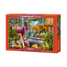 Castorland 3000 - Tigers coming to life