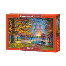 Castorland 1500 - Autumn walk, Central Park