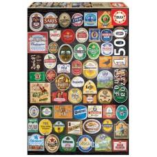 Educa 1500 - Labels of beer bottles
