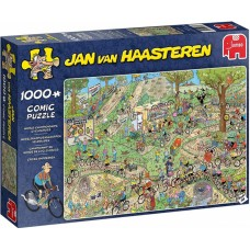 Jumbo 1000 - Cross country with bicycles, Jan van Haasteren