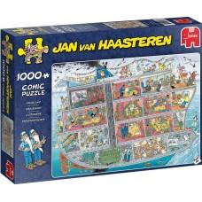 Jumbo 1000 - Cruise ship, Jan van Haasteren