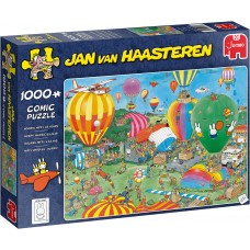 Jumbo 1000 - Balloon race, Jan van Haasteren